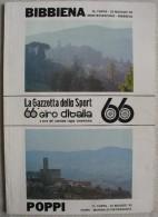 A2078  LA GAZZETTA DELLO SPORT 66° GIRO D´ITALIA 10° TAPPA MONTEFIASCONE BIBBIENA MAGGIO 1983 - Sports