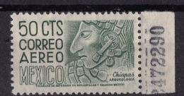 Mexico (Sc # C-193), MNH, (Single Of Set) Chiapas Stone Heads  (1950) - Mexico