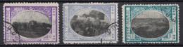 Maroc - 3 Timbres De POSTE LOCALE 3 Valeurs Oblitérés : 50c / 20c / 5c - Maroc (1891-1956)