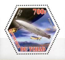 Tschad  Wabenmarke  Zeppelin LZ 126  **/MNH - Zeppelins