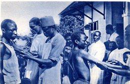 CPA AFRIQUE - MISSIONS D'AFRIQUE - UN DISPENSAIRE CATHOLIQUE - Burkina Faso