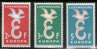 Luxembourg 1958 Europa CEPT, MNH (**) - Europa-CEPT