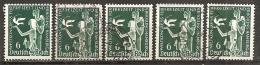 Michel 622 O (5x) - Deutschland