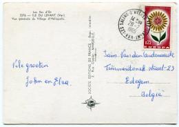 France - Postcard Ile Du Levant - Europa Cept - Sin Clasificación