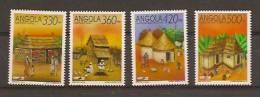 ANGOLA 1992  Traditional Houses MNH - Angola