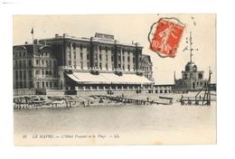 Le Havre - L' Hotel Frascati Et La Plage - Andere