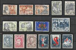 ANNEE 1964 - 35 Timbres Et 3 Blocs - Oblitérés RELAIS  HUY  11 - BELLES OBLITERATIONS CENTRALES  + Cadeaux & Documents - Belgien