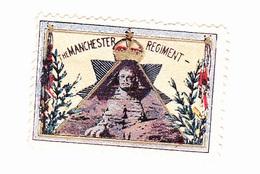 Vignette Militaire Delandre - Angleterre - The Manchester Regiment - Shinx - Erinnofilia