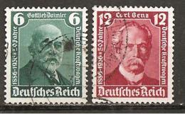 DR 1936 // 604/605 O - Deutschland
