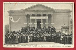 HBK-17  Croix-Rouge, 1200 Collaborateurs Volontaires Agence Prisonniers De Guerre. 15 Aout 1914.Léger Pli Angle Inf. Dr - Croix-Rouge
