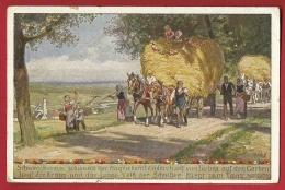 HBK-25  Sommer. Künstler Postkarte Von Paul Hey. - Suisse