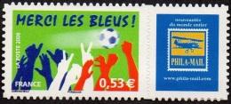 France Personnalisé N° 3936.B ** Football - Merci Les Bleus - Logo Privé - Personnalisés