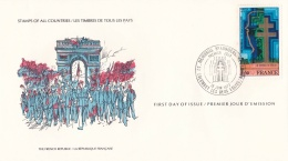 France FDC 1977 Stamps Of All Countries (L78-29) - Filatelia & Monete