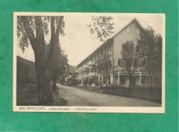 Bad Rippoldsau (Baden-Württemberg) 2 Scans Erholungsheim Klösterle-Heim - Bad Rippoldsau - Schapbach