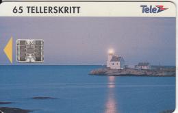 NORWAY - Lyngor Lighthouse(025), CN : C44144471, Tirage 9000, 04/94, Used - Lighthouses