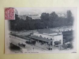 CPA 75  PARIS  GARE DES BATIGNOLLES  1904   Animé    SEPT 2016  241 - Pariser Métro, Bahnhöfe