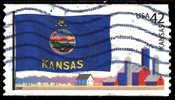Etats-Unis / United States (Scott No.4292 - Drapeaux Des états Americains / State Flags) (o) - United States