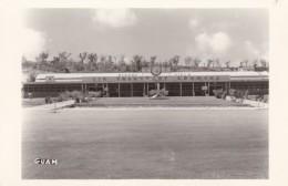 Harmon Field Guam, Air Transport Center Building, C1940s Vintage Real Photo Postcard - Guam
