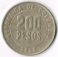 Colombia 2008 200 Pesos - Colombia