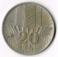 Poland 1976 20 Zloty Waterfall - Poland
