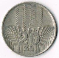 Poland 1973 20 Zloty Waterfall - Poland