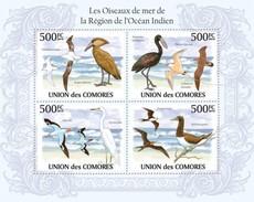 COMORES SHEET BIRDS SEABIRDS IN THE REGION OF THE INDIAN OCEAN LES OISEAUX DE MER DE LA RÉGION DE L´OCÉAN INDIEN