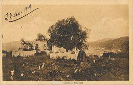 Valone (Valona) - Cimitero Albaneses - Fot. Cav. Alemanni - Carte Non Circulée - Albanie