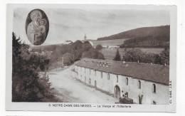 (RECTO / VERSO) NOTRE DAME DES NEIGES - N° 3 - LA VIERGE ET L' HOTELLERIE - CARTE SOUPLE - CPA - Francia