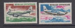 1973-REP.CENTRAFRICAINE-N°94/95** AVIONS - Zentralafrik. Republik