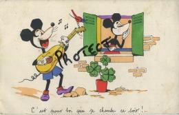 Disney :   Mickey Mouse   ( 2 Scans ) - Disney
