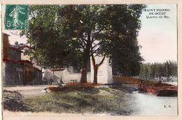X42048 Peu Commun St SAINT-PIERRE-DE-BOEUF Loire Quartier Du BAC à ROGUET Rue Des Docks Lyon-Vaise- L.C - Other Municipalities