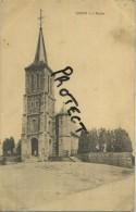 Sinsin L'église    (  Ecrit 1925 Avec Timbre ) - Somme-Leuze
