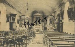 Sinsin :  Intérieur De L'église     (  Ecrit 1924 Avec Timbre ) - Somme-Leuze