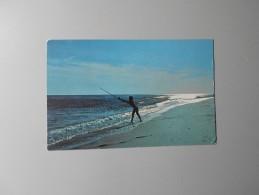 ETATS UNIS NY NEW YORK SURF FISHING JONES BEACH ............ - Long Island