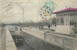 N-16 1612 : DOUAI . LE CANAL . PENICHE. ECLUSE DE DORIGNIES - Douai