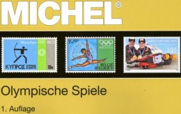 Erstauflage MICHEL Olympia 2016 ** 68€ Olympiade Block/Sets Topic Catalogue Of Olympic Stamp/bloc ISBN 978-3-95402-148-2 - Materiale