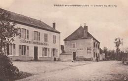 Allier PARAY SOUS BRUAILLES Centre Du Bourg (Café Auberger Hôtel Lingaud) - Francia