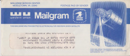 K 1 United States Etats-Unis USA Stationery Entier Postal Ganzsache Pse Mailgram Space Kosmos - Entiers Postaux