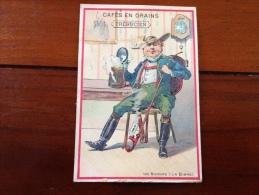 Chromos Café Trebucien Les Buveurs - Tea & Coffee Manufacturers