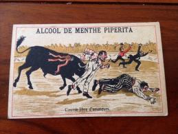Chromos Alcool De Menthe Piperita - Trade Cards