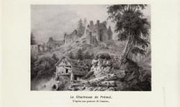 1922 - Iconographie Documentaire - Vaulnaveys-le-Haut (Isère) - La Chartreuse De Prémol -  FRANCO DE PORT - Old Paper