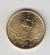 @Y@  Italie  50   Cent  2002      UNC  (3113) - Italien