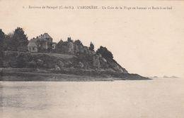 G , Cp , 22 , PAIMPOL , Environs , L'ARCOUËST , Un Coin De La Plage De Launay Et Roch-ic-ar-had - Paimpol
