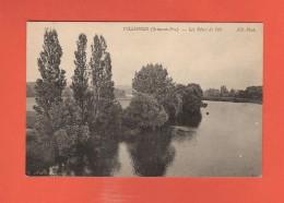 * CPA..dépt 78..VILLENNES Sur SEINE   :  Les Rives De L' Ile  :  Voir Les 2 Scans - Villennes-sur-Seine