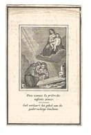 142. PETRUS DU CHATEAU  -  °HAELEN (DIEST)  /  +  PERK  1853  (75j.) - Images Religieuses
