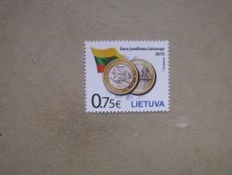 Litauen    Einführung Der Euro-Währung     2015      ** - Idées Européennes