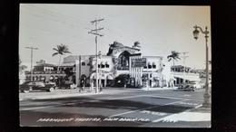 CPA Carte Photo, Paramount Theatre, Palm Beach Florida - Palm Beach