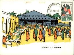 CONGO - Carte Premier Jour Du Marché De Poto - Poto - A Voir - L 3004 - FDC