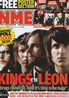 NME - NEW MUSICAL EXPRESS - 6 Septembre 2008 - KINGS OF LEON - Debbie HARRY - Divertissement