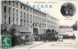 72 CHATEAU-du-LOIR - Ecole Supérieure   (Recto/Verso) - Chateau Du Loir